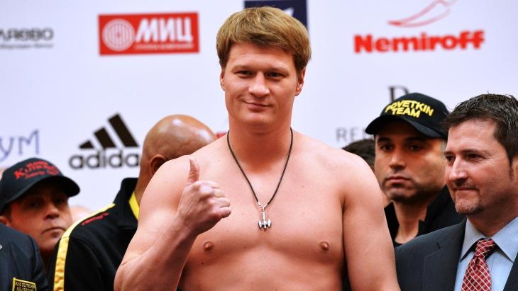 Русский боксер Александр Поветкин на100% оправдан поделу омельдонии