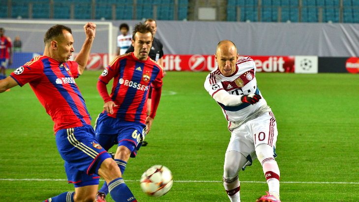 Футбол 10 декабря цска бавария