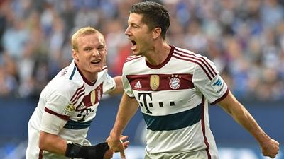 «Бавария» сыграла вничью с «Шальке»