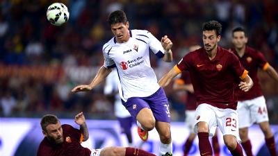 «Рома» одержала победу над «Фиорентиной»