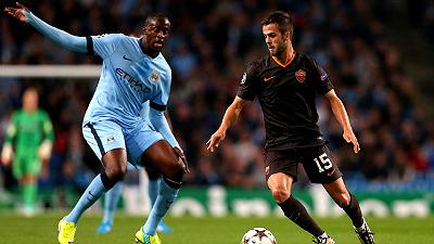 «Манчестер Сити» сыграл вничью с «Ромой»