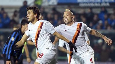 «Рома» на выезде переиграла «Аталанту»