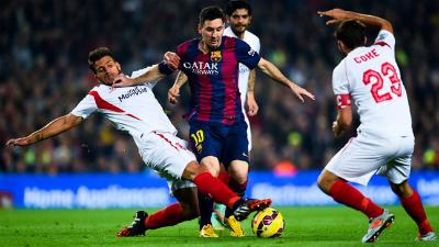 Хет-трик Месси помог «Барселоне» разгромить «Севилью»