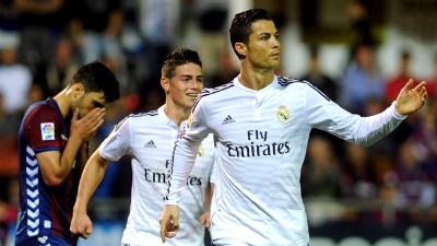 «Реал» забил четыре безответных мяча «Эйбару»