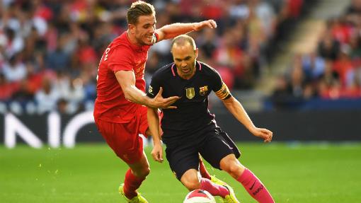 МКЧ. «Ливерпуль» разгромил «Барселону»