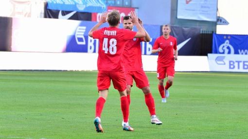 «Мордовия» срезультатом 5:0 разгромила «Химки» вшестом туре ФНЛ
