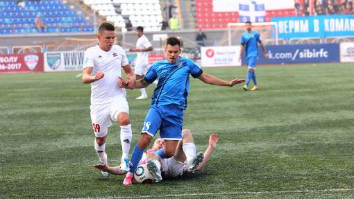 Футбольная «Сибирь» одержала первую победу всезоне 2016/2017