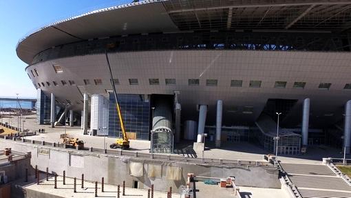 «Метрострой» вышел настройку стадиона наКрестовском без контрактов