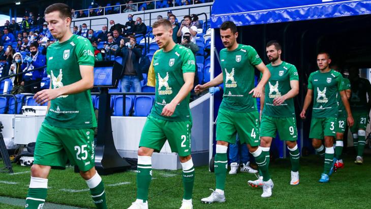 «Рубин» одолел «Черноморец» в матче Кубка России
