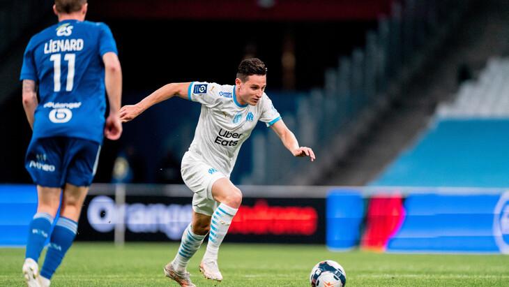 «Марсель» ушел от поражения в матче со «Страсбургом»