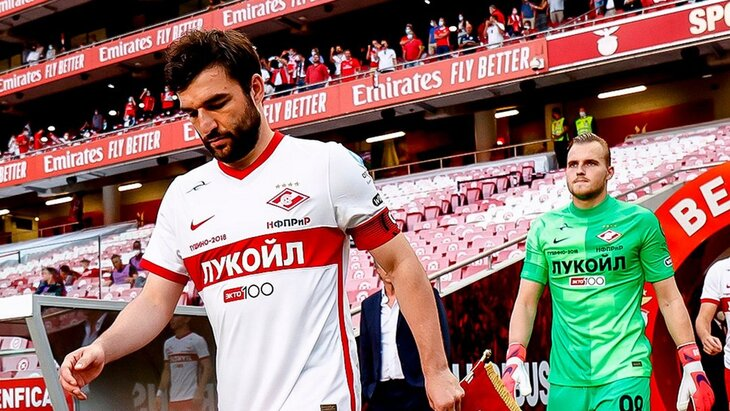 Игнатьев: «Спартак» выглядел бесперспективно в матче с «Бенфикой»