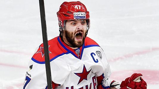 Гол Радулова принес ЦСКА победу над «Автомобилистом»