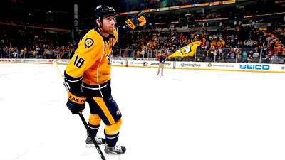 Форвард «Нэшвилла» Нил – лучший игрок дня в НХЛ