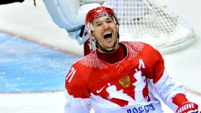 Сборная России обыграла Швецию благодаря дублю Ковальчука