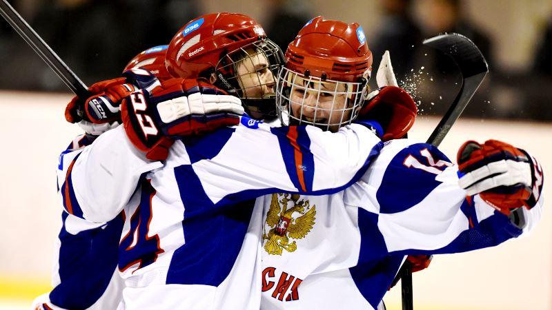 юниоры по хоккею: