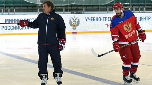 Олег Знарок и Вячеслав Войнов ФХР