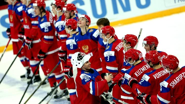 Молодежная сборная России по хоккею с победы стартовала на ЧМ