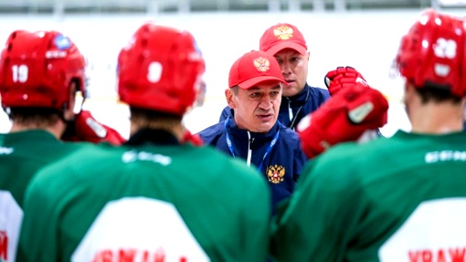Молодежная сборная Российской Федерации похоккею вышла вплей-офф чемпионата мира