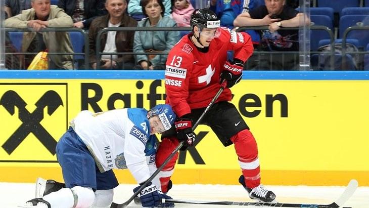 Казахстан сенсационно обыграл Швейцарию наЧМ похоккею