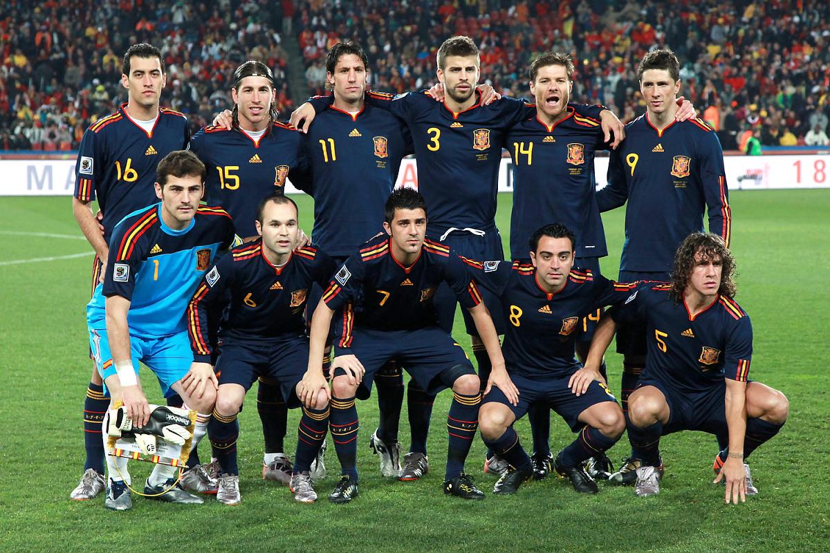 Фото сборной испании по футболу на чм 2010