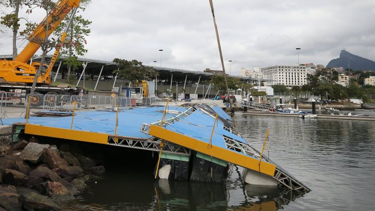 Австралийскую сборную ограбили впроцессе пожара вОлимпийской деревне вРио-де-Жанейро
