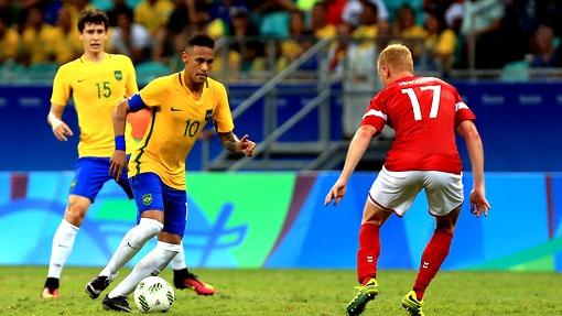 Олимпиада-2016. Бразилия громит Данию ивыходит вплей-офф