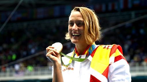 Мирея Бельмонте Гарсия стала олимпийской чемпионкой надистанции 200 метров баттерфляем