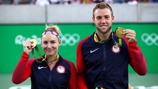 Американские теннисисты завоевали золото Олимпиады вмиксте