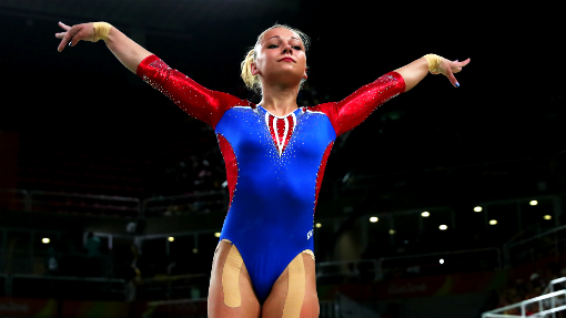 Гимнастка Пасека стала серебряным призёром ОИ-2016 вопорном прыжке