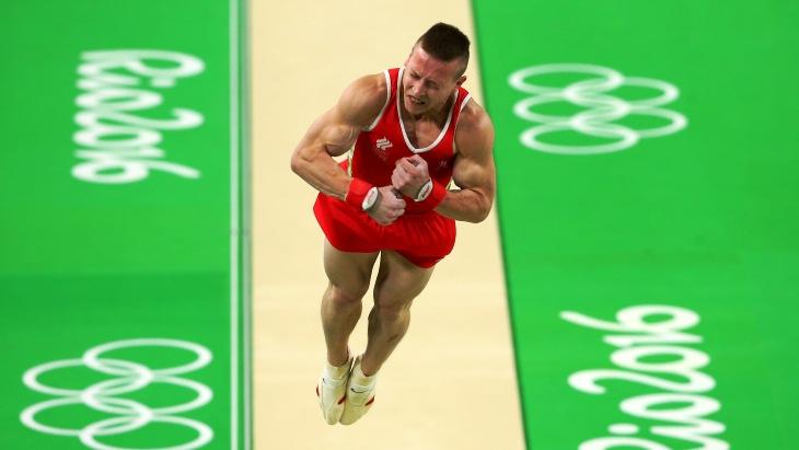 Денис Аблязин стал трехкратным призёром Олимпиады поспортивной гимнастике