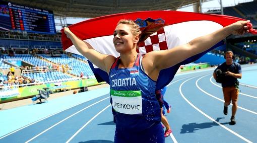 Хорватка Перкович стала чемпионкой ОИ-2016 вметании диска