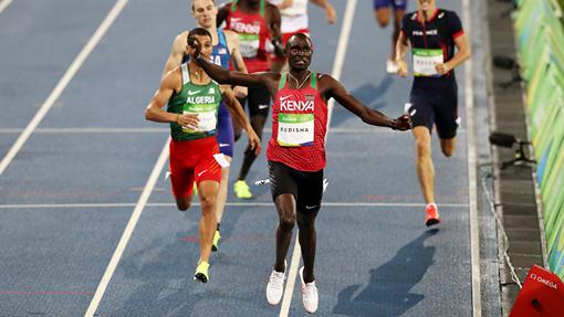 Кениец Дэвид Рудиша завоевал золото ОИ-2016 вбеге на800 метров