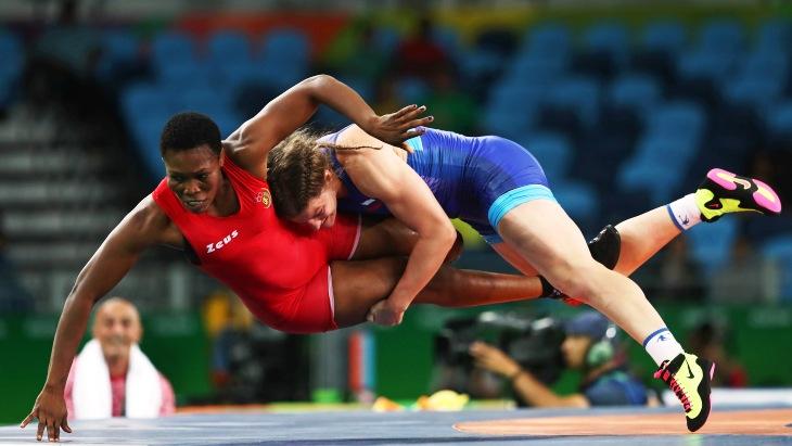 Россиянка Екатерина Букина выиграла «бронзу» вженской вольной борьбе