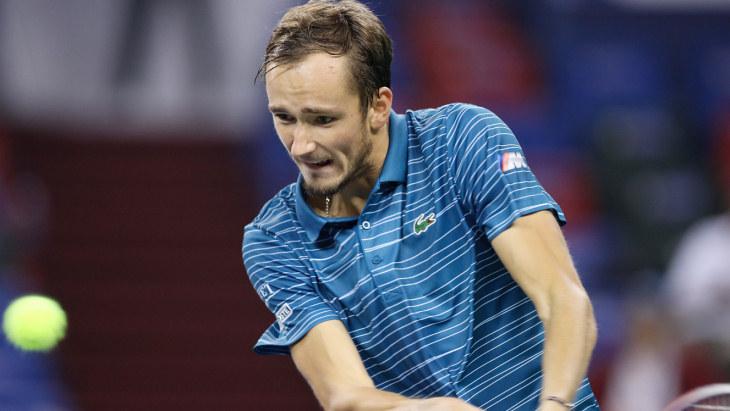 Медведев пробился в полуфинал «Мастерса» в Шанхае