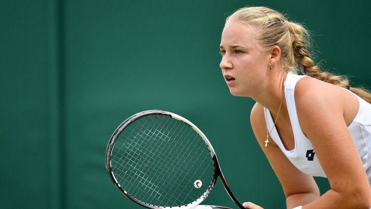 Блинкова вышла в третий круг турнира в Риме. Новости футбола