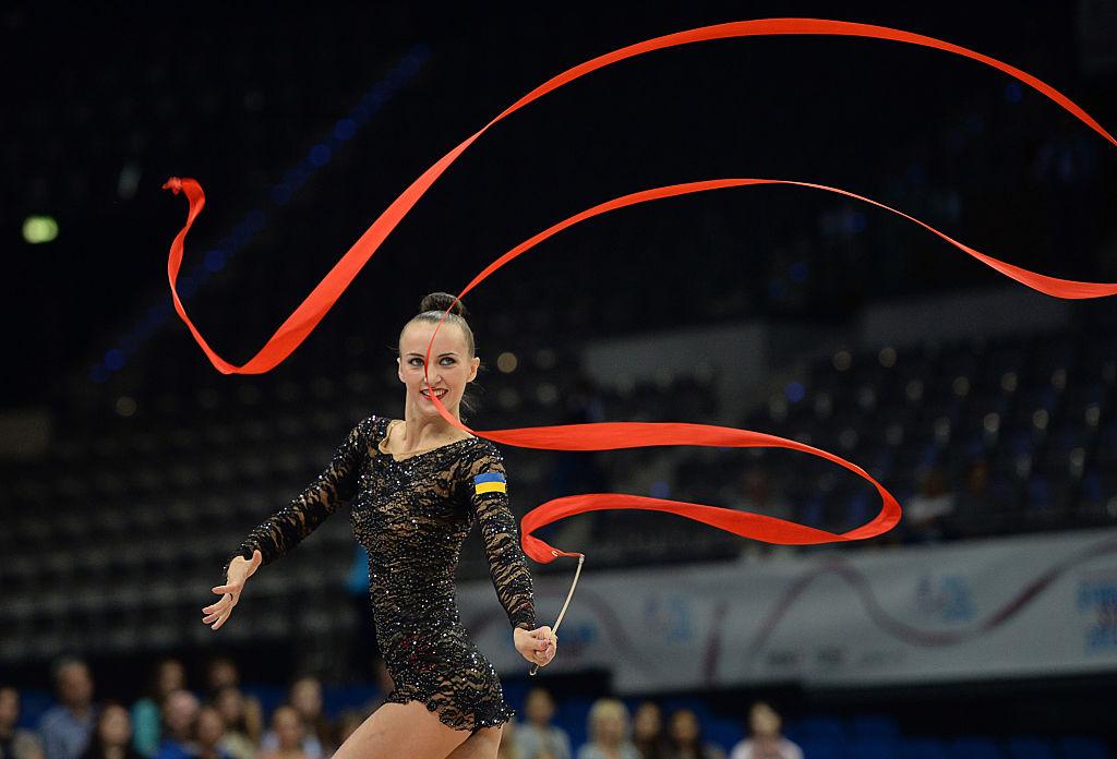 Украинские гимнастки в сексе — img 11